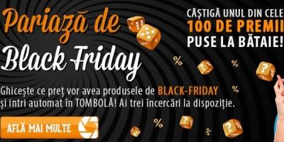 F64 muta Black Friday cu o saptamana mai devreme
