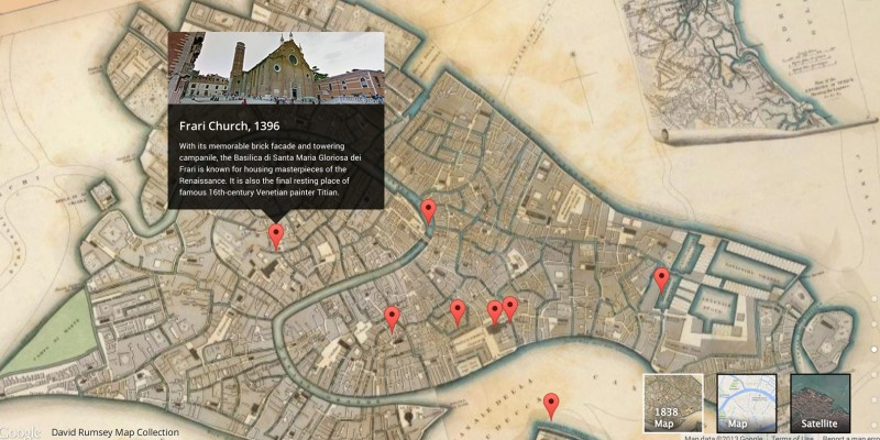 Google Street View, acum si in muzeele Venetiei
