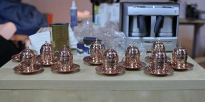 Sesiuni de sampling pentru promovarea retetei de cafea turceasca de la DIVAN