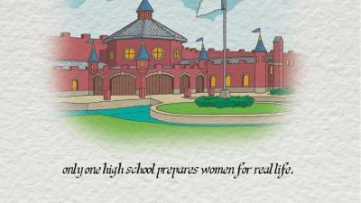 Mercy Academy - Fairytale (Postcard)