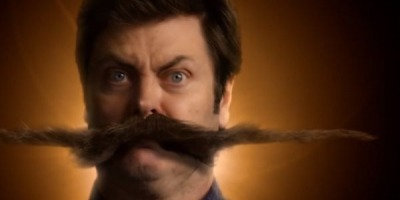 O mustata si-a crescut un Nick Offerman