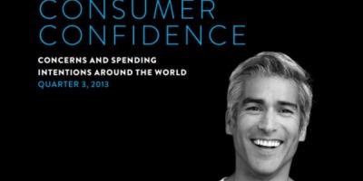 Studiu Nielsen: 58% dintre consumatorii intervievati la nivel global cred ca au fost in recesiune in T3 2013