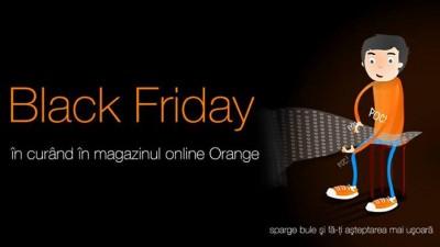 Orange - Black Friday