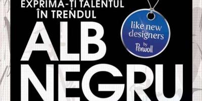"""Alb/Negru – conceptul campaniei de promovare """"Perwol – Like New Designers"""", semnata de Armada"""