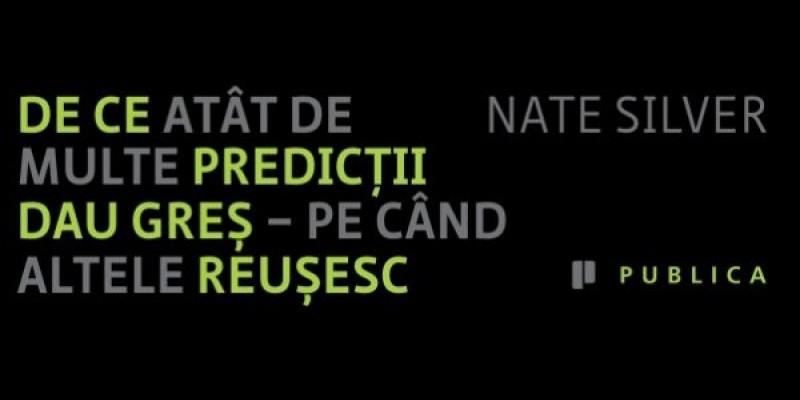 """Ipsos Research Romania se alatura Editurii Publica pentru lansarea volumul """"Semnalul si Zgomotul"""" de Nate Silver"""