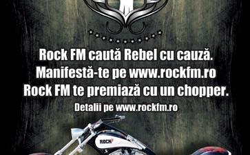Rock FM - Rebel cu cauza (Print)