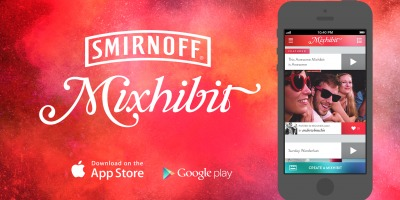 Smirnoff lanseaza aplicatia video mobile Mixhibit