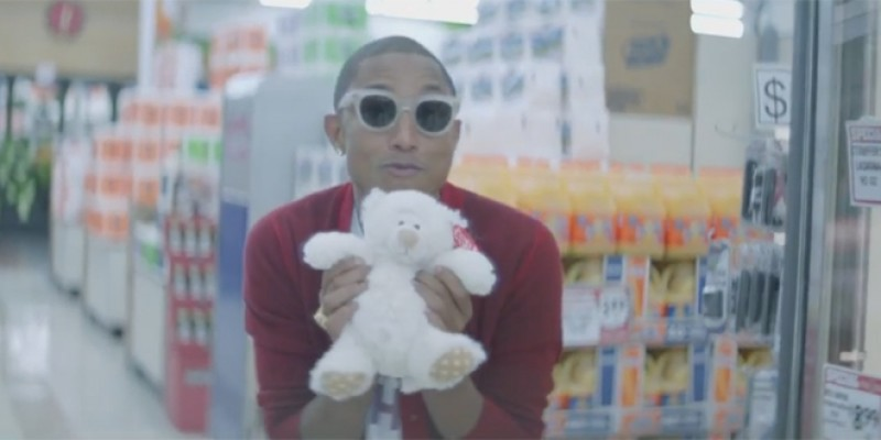 O zi cu Pharrell e o zi fericita