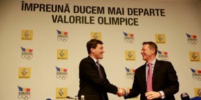 Renault Romania este partener oficial al Comitetului Olimpic si Sportiv Roman pana in 2016