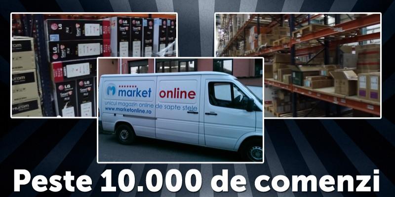MarketOnline de Black Friday: 10.000 de comenzi in valoare totala de 8 milioane lei