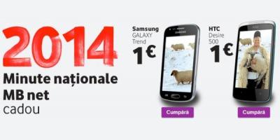 """Vodafone serbeaza noul an sub sloganul """"Un 2014 nelimitat de bun"""""""