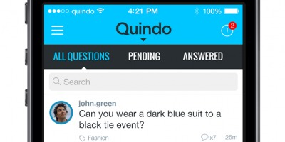 Se lanseaza Quindo, aplicatia mobila pentru curiosi