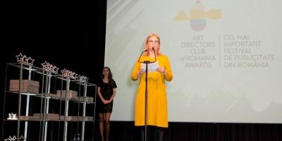 Discursul tinut de Ema Prisca la gala ADC*RO Awards 2013