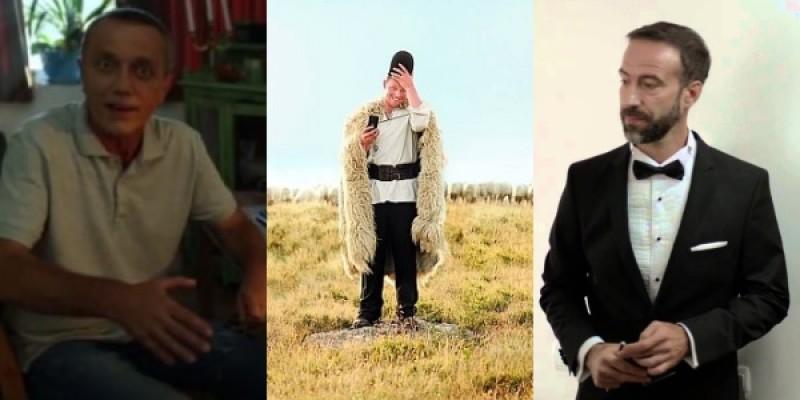 Cei mai aprigi barbati romani din reclamele anului 2013