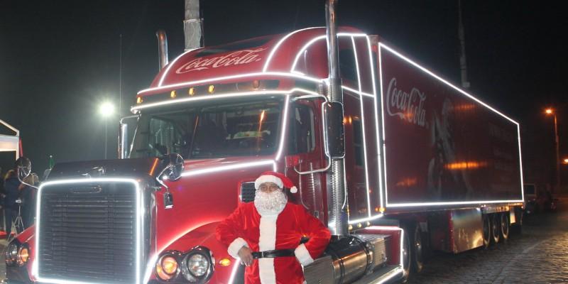 Caravana Coca-Cola strange energie de la telefoanele mobile