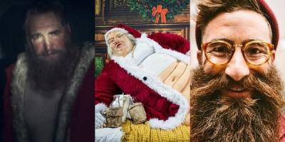 Mos Craciun in 2013: suparat, obez, hipster
