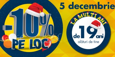 Flanco aniverseaza 19 ani pe piata de retail electro-IT din Romania