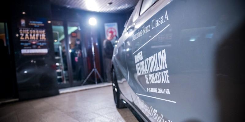 Pulsul unei noi generatii de spoturi, transmis de GolinHarris si Mercedes-Benz la Noaptea Devoratorilor de Publicitate 2013