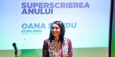 [Superscriitori] Oana Sandu: Speram cu totii ca scrierile bune se vor inmulti, atat timp cat invatam si alegem sa fim constructiv-nemultumiti