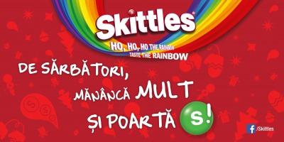 Urari de sarbatori atipice, in noua campanie dezvoltata de DDB pentru Skittles