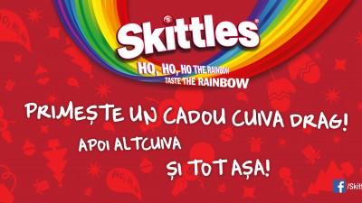 Skittles - Primeste un cadou