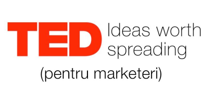 Lectii de marketing de la conferintele TED