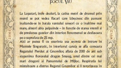 The Hobbit - Traseul mitologic (Focul Viu)