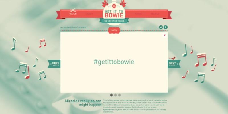Si noi il vrem pe David Bowie