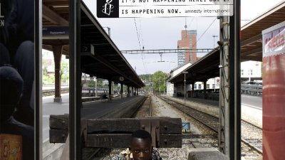 Amnesty International - Not Here But Now (1)