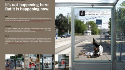 Amnesty International - Not here but now