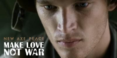AXE pulverizeaza dragoste si pace pe campurile de lupta