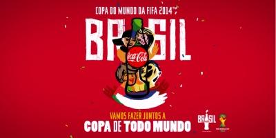 Nici un Campionat Mondial de Fotbal fara o editie speciala de sticle Coca-Cola