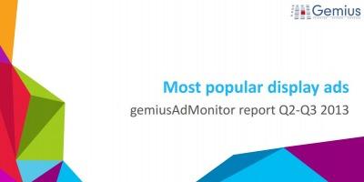 Raport AdMonitor: cele mai folosite formate de display ads in T2 si T3 2013 in regiunea CEE