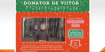 Cinci agentii de publicitate, media si PR au colaborat la realizarea campaniei de promovare a proiectului World Vision - Donator de Viitor