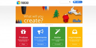 S-a deschis FabCad.ro, primul magazin online specializat in printarea 3D din Romania