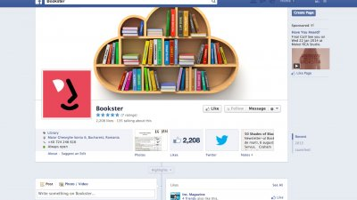 Facebook Page: Bookster