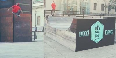 Skateboard-erii isi revendica orasul