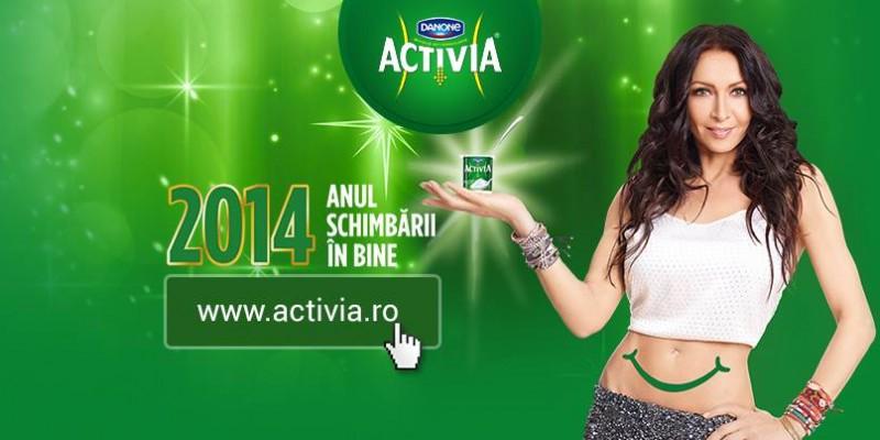 Mihaela Radulescu Schwarzenberg este noul endorser Activia