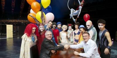 DHL International si Cirque du Soleil au incheiat un parteneriat logistic