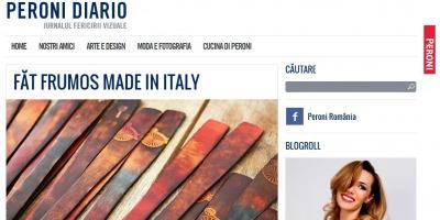 Peroni relanseaza blogul Diario