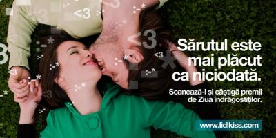 [UPDATE] MRM Romania a creat pentru LIDL aplicatia Lidl's Valentine Kiss