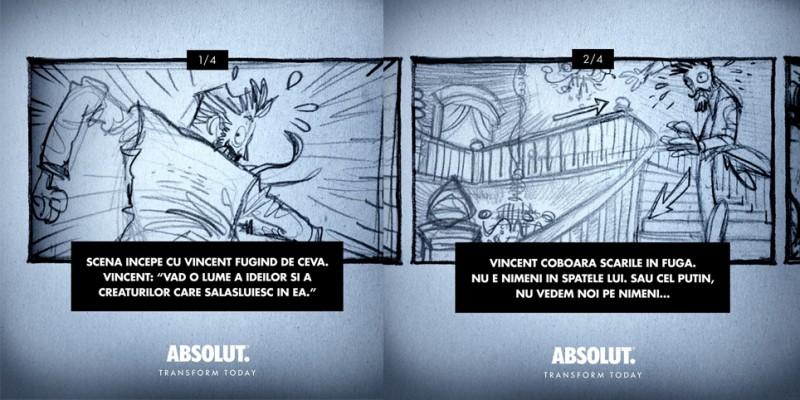 Consumatorii ABSOLUT pot contribui la regizarea unui film de animatie, creat pornind de la ilustratiile lui Rafael Grampa