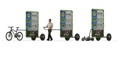 Start-up-ul romanesc Bizz on Wheels prezinta doua solutii de marketing la EuroShop