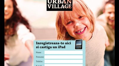 Adora Urban Village - Concurs (aplicatie iPad)