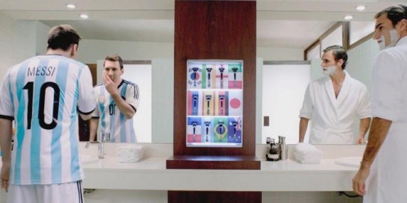 "Lionel Messi, noua imagine globala a campaniei Gillette – ""Inner Steel"""