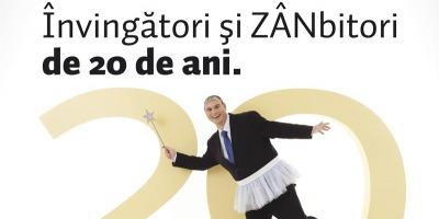 Banca Transilvania aniverseaza 20 de ani