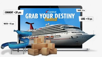 Carnival Cruise - Grab your destiny