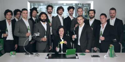 Heineken, barbatii legendari si putina magie PR
