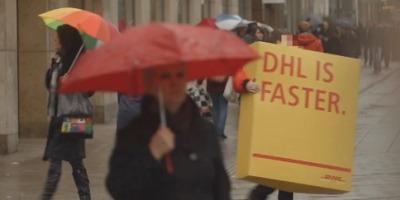 Trolling de calitate: DHL pacaleste concurenta sa ii faca reclama