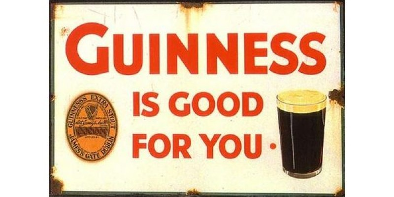 Istorie publicitara: Guinness